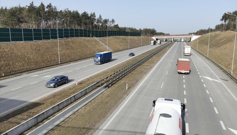 Autostrada A1 - zdjęcie ilustracyjne /Andrzej Zbraniecki/East News /PAP
