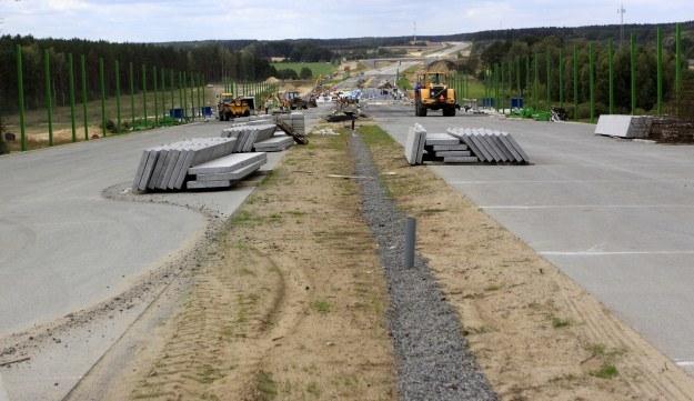 Autostrada A2 koło Świecka, która ma być gotowa już w grudniu /PAP