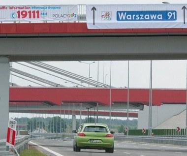 Autostrada A2. Z Warszawy do Niemiec zapłacisz 80 zł.