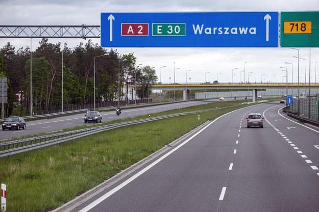 Autostrada A2; zdj. ilustracyjne /Andrzej Bogacz /Agencja FORUM
