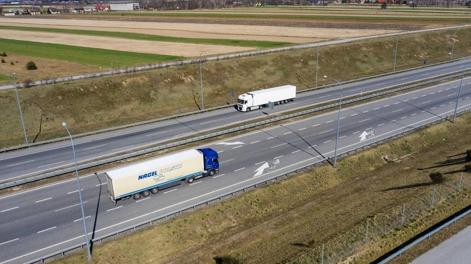 Autostrada A2 /Grzegorz Michałowski   /PAP