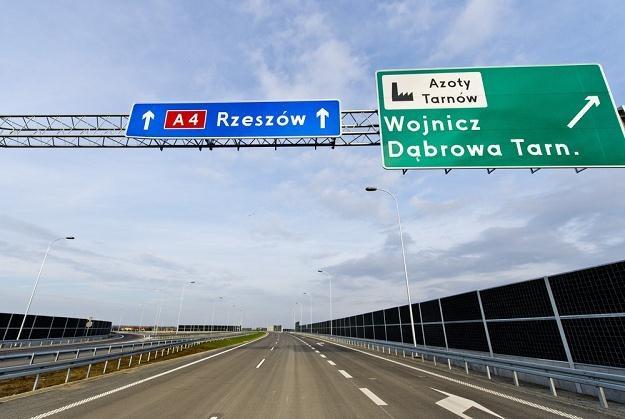 Autostrada A4 coraz bardziej przypomina autostradę / Fot: Piotr Tracz /Reporter