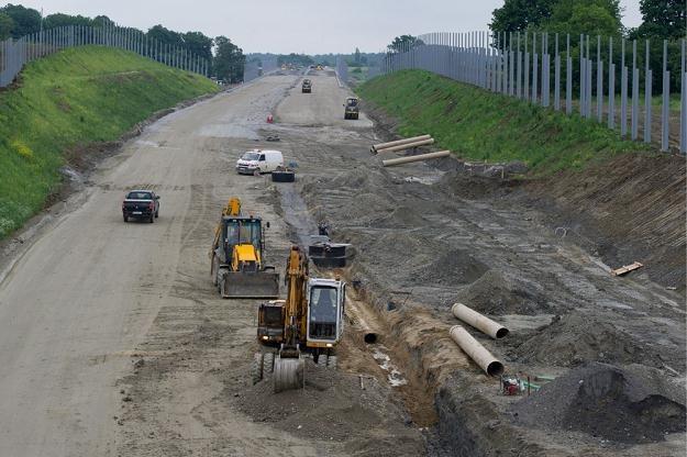 Autostradą A4 na Ukrainę mieliśmy pojechać podczas Euro... / Fot: Tadeusz Koniarz /Reporter