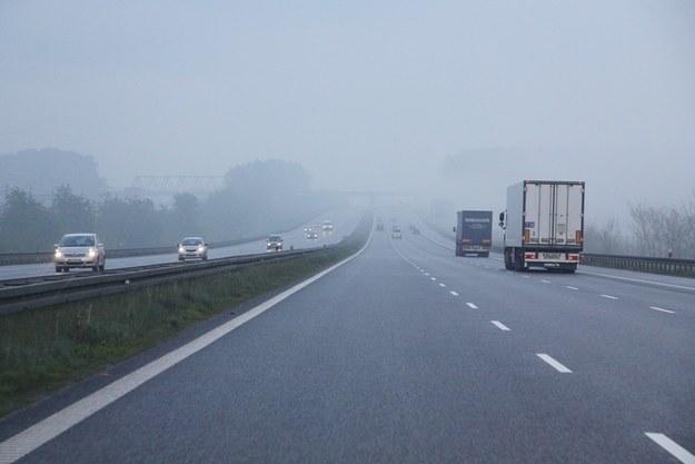 Autostrada A4 na wysokości Rudy Śląskiej /Łukasz Jóźwiak /Reporter