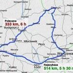 Autostradą czy drogami krajowymi? Co się bardziej opłaca?