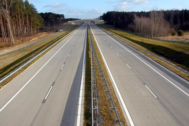 Autostrada piękna i... pusta / Fot: Stefan Królikowski /Agencja SE/East News