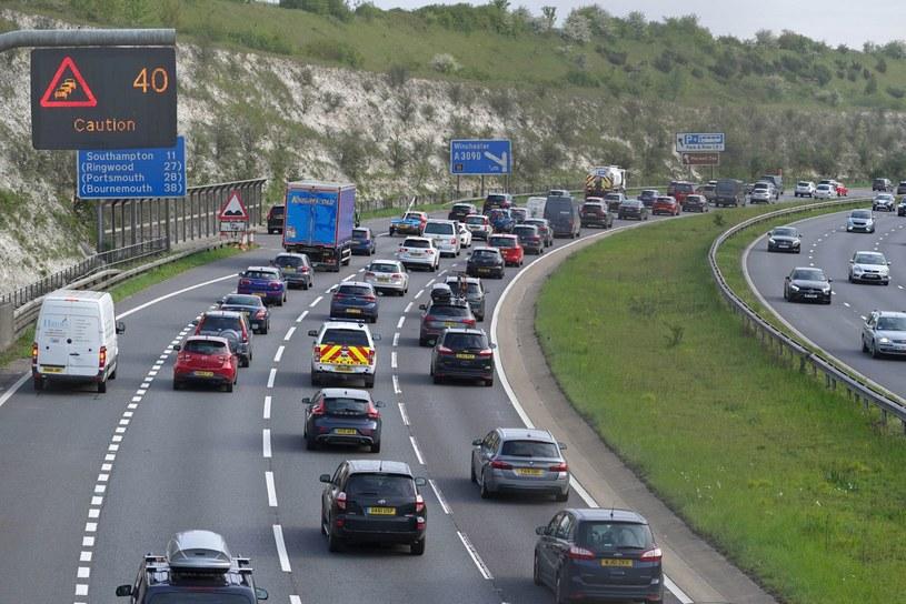 Autostrada w Wielkiej Brytanii /Getty Images