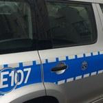 Autostradowa policja eskortowała samochód z poważnie rannym dzieckiem