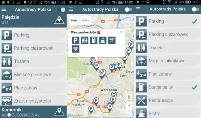 Autostrady Polska /android.com.pl