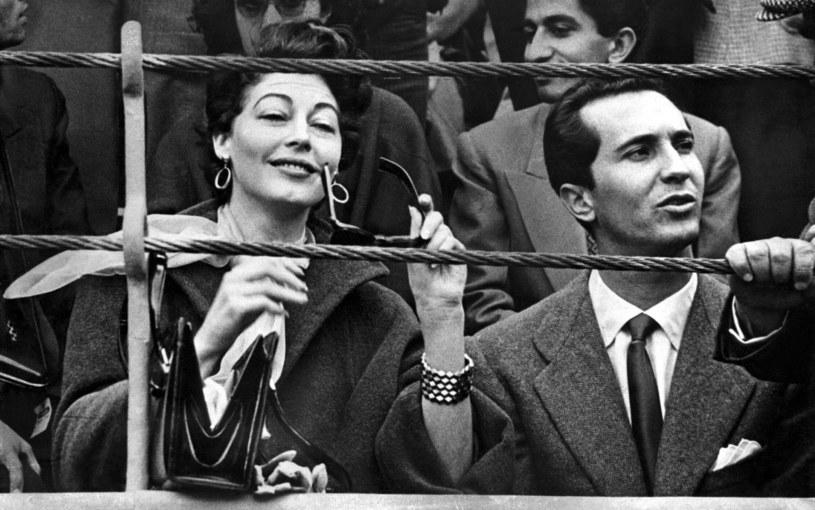 Ava Gardner z torreadorem Luisem Miguelem Dominguínem /Everett Collection /East News