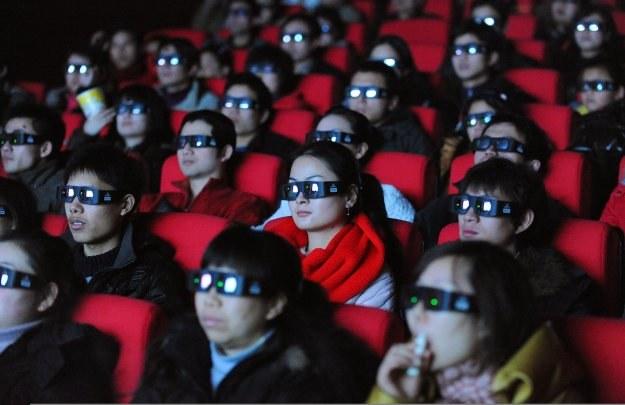 """""""Avatar"""" już stał się w Chinach największym sukcesem kasowym /AFP"""