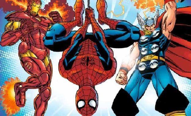 """""""Avengers - Marvel Superheroes"""" - okładka magazynu /Informacja prasowa"""