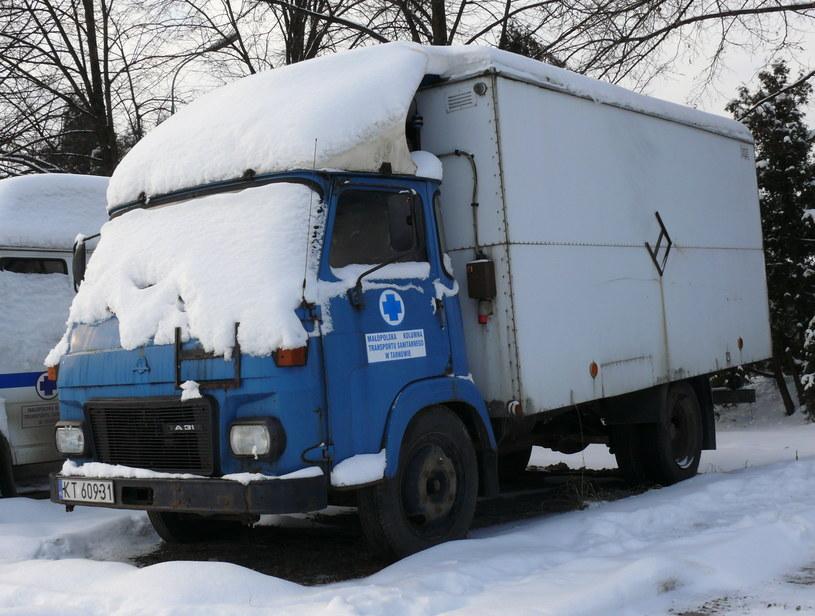 Avia a31 Małopolskiej Kolumny Transportu Sanitarnego w Tarnowie /Muzeum Ratownictwa w Krakowie