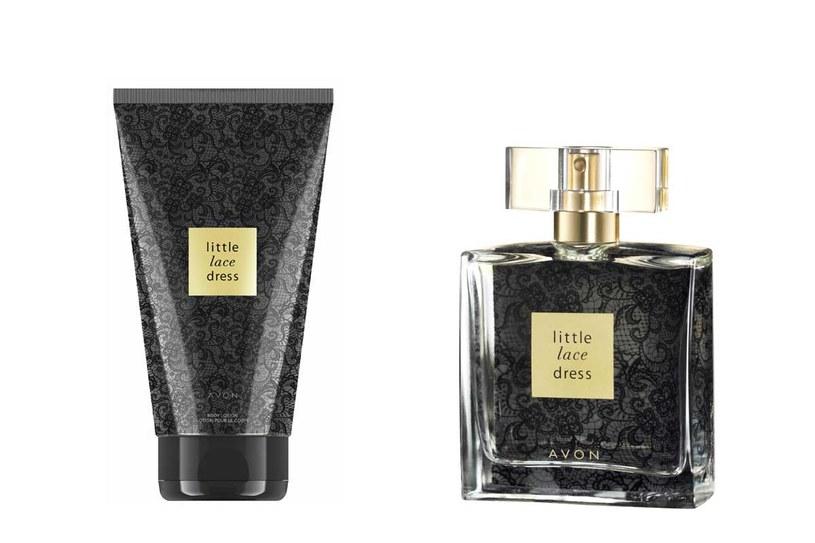 Avon Little Lace Dress: Woda perfumowana i balsam /materiały prasowe