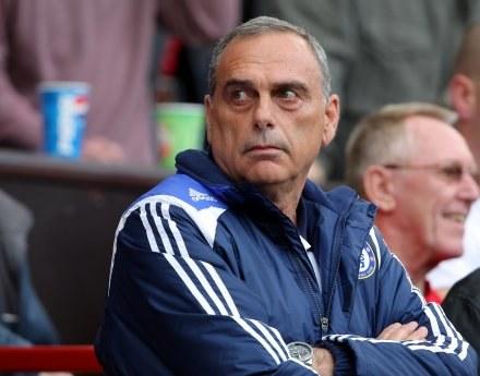 Avram Grant nie ukrywał rozgoryczenia pracą arbitra na Old Trafford /AFP