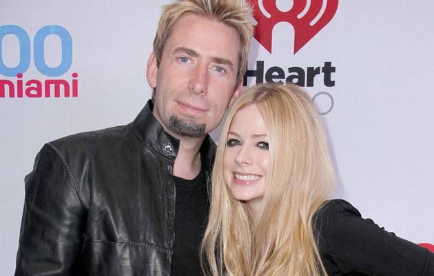 Avril Lavigne i Chad Kroeger /John Parra /Getty Images
