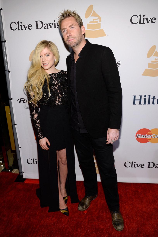 Avril Lavigne i Chad Kroeger /Kevork Djansezian /Getty Images