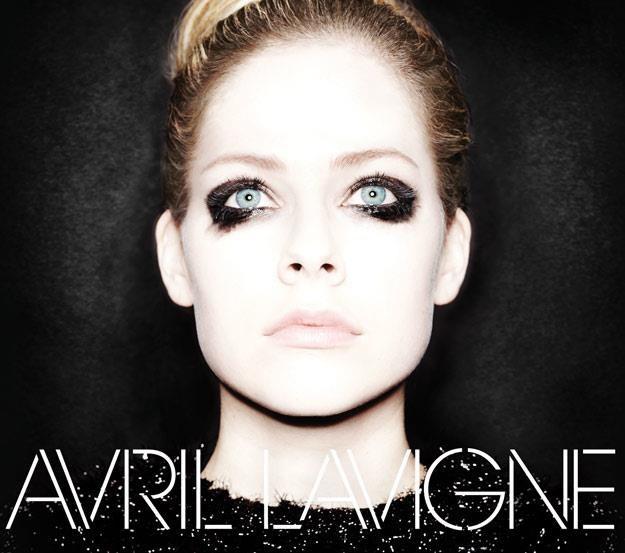 """Avril Lavigne na okładce albumu """"Avril Lavigne"""" /"""