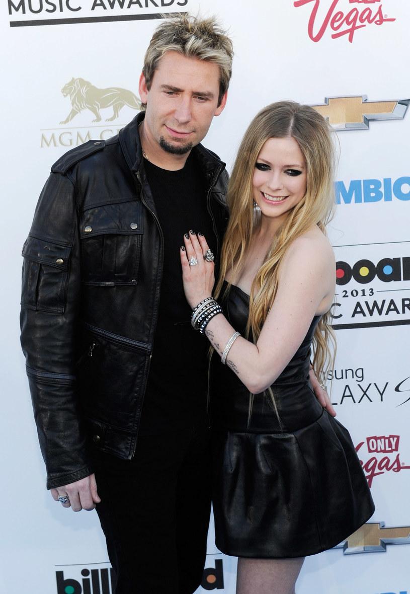 Avril Lavigne niedawno ogłosiła rozwód z Chadem Kroegerem /David Becker /Getty Images