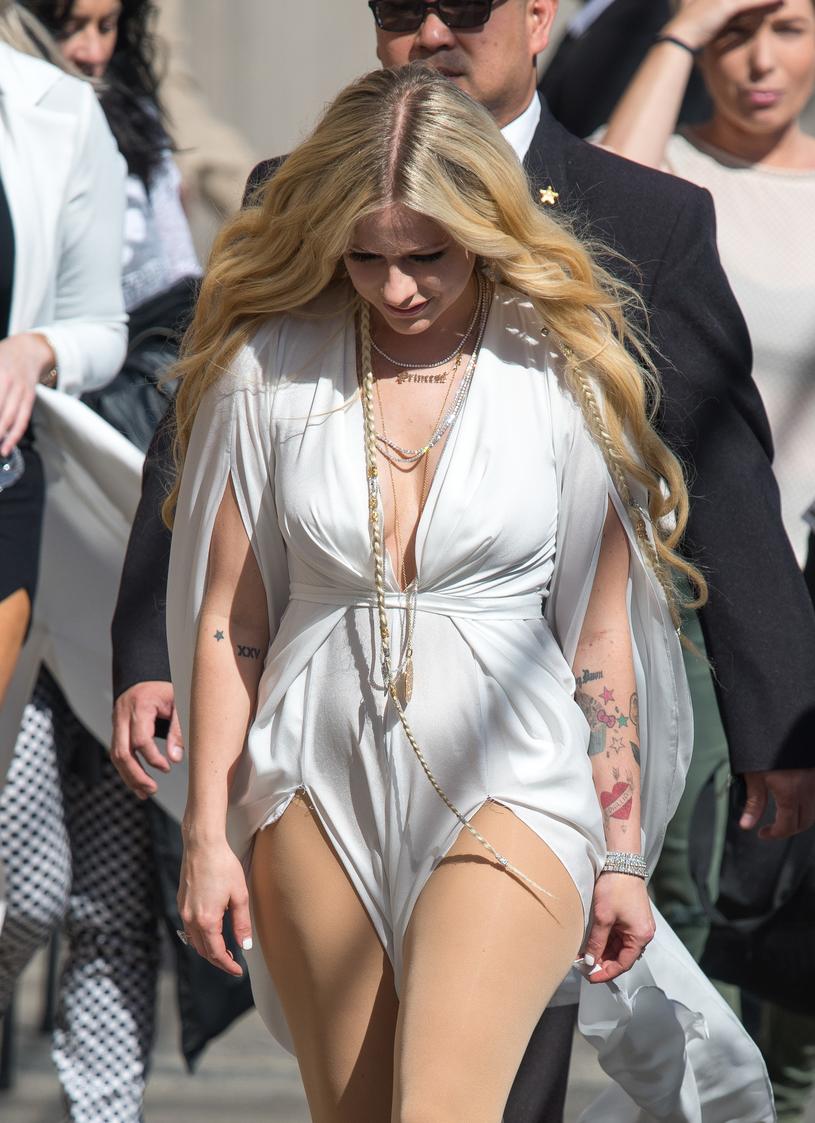 Avril Lavigne walczy z boreliozą /RB/Bauer-Griffin/GC Images /Getty Images