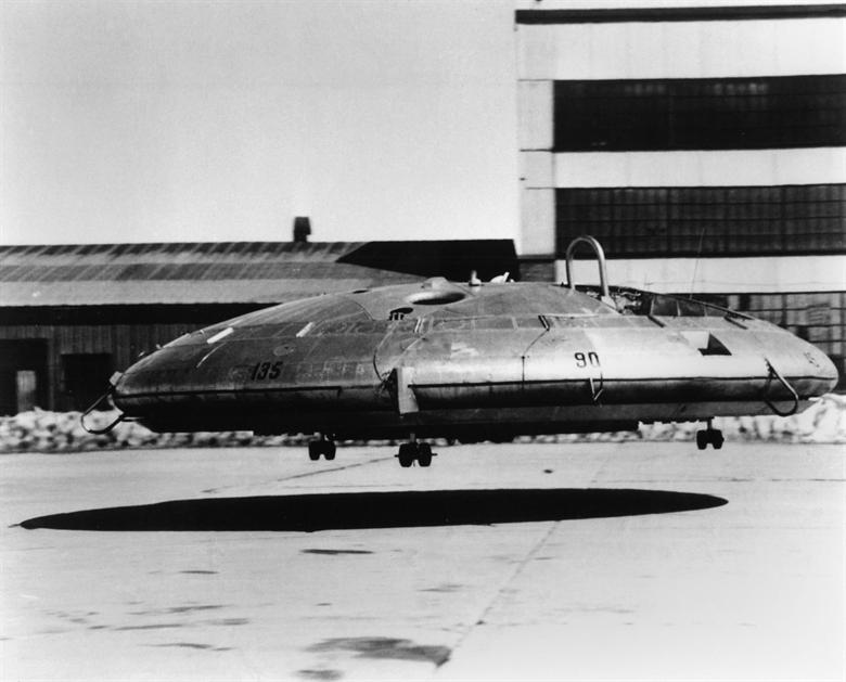 Avro Canada VZ-9AV Avrocar /domena publiczna