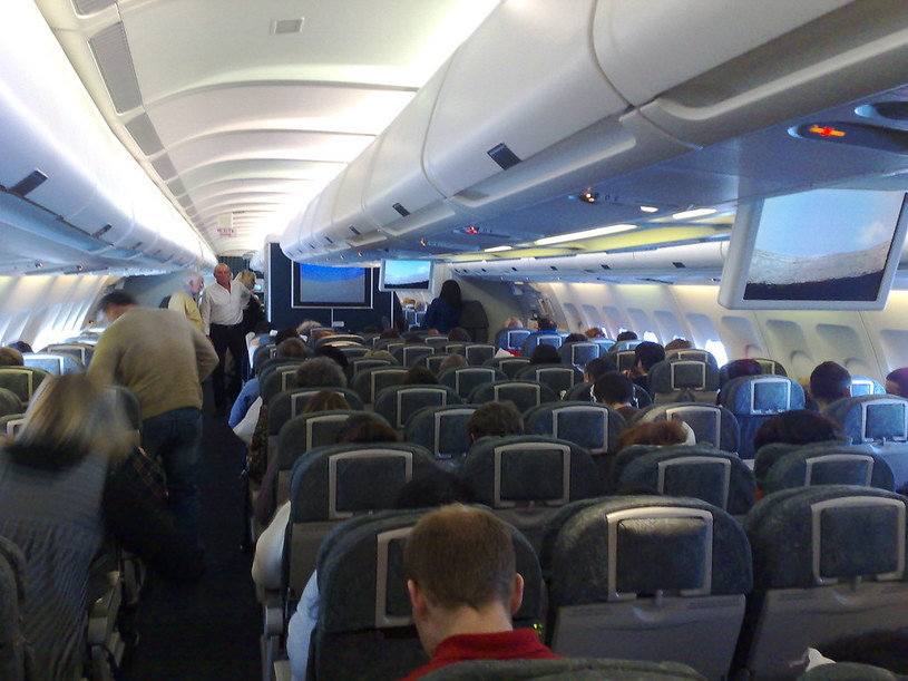 Awantura na pokładzie samolotu American Airlines /Flickr/Frankie Roberto /
