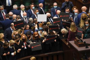 Awantura w Sejmie. Poszło o aborcję, interweniowała Straż Marszałkowska