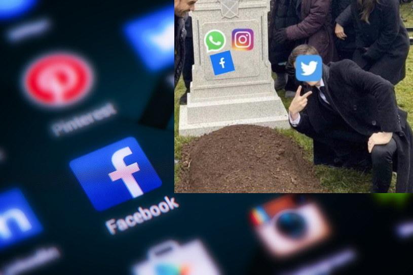 Awaria Facebooka - towarzyszą jej kolejne internetowe memy /123RF/PICSEL