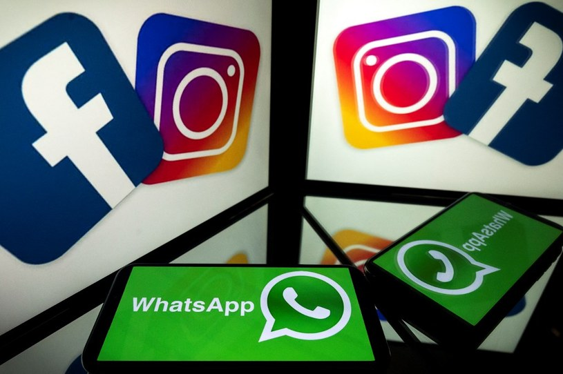 Awaria Facebooka, WhatsAppa i Instagrama miała charakter globalny - około 3 mld użytkowników miało gigantyczne problemy /AFP