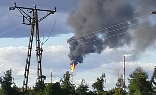 Awaria płockiej rafinerii. Jedna osoba jest ranna