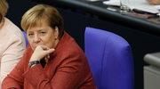 Awaria samolotu Angeli Merkel