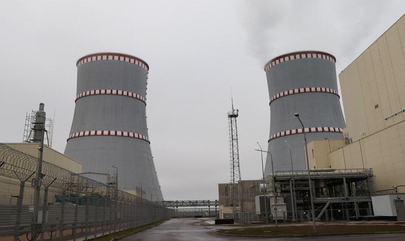 Awaria w białoruskiej elektrowni atomowej /MAXIM GUCHEK / EPA /PAP/EPA