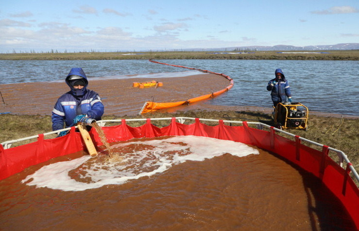 Awaria w Norylsku sieje spustoszenie w okolicznej florze i faunie /EPA