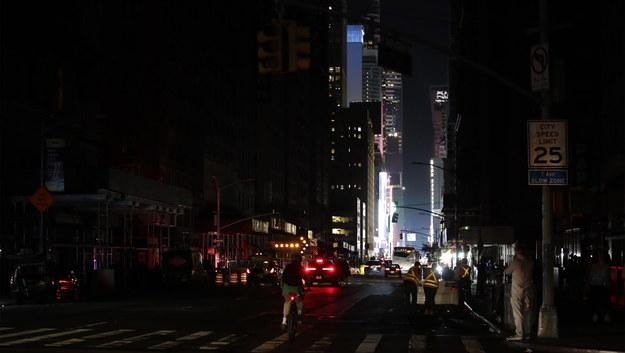 Awaria w Nowym Jorku /JASON SZENES    /PAP/EPA