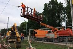 Awaria wodociągowa unieruchomiła tramwaje w Łodzi