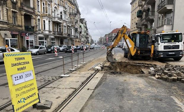 Awaria wodociągu w Poznaniu. Są zmiany w kursowaniu tramwajów