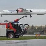 Awaryjne lądowanie na lotnisku Okęcie