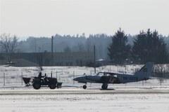 Awaryjne lądowanie samolotu na lotnisku w Gdańsku