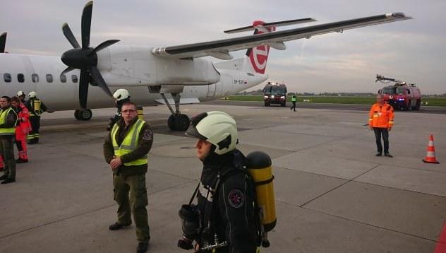 Awaryjne lądowanie samolotu /Gorąca Linia /Gorąca Linia RMF FM