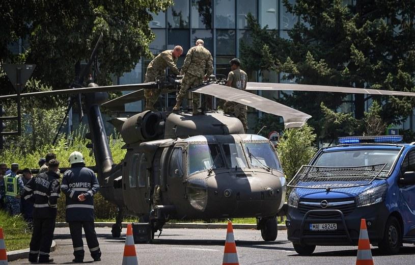 Awaryjne lądowanie w Bukareszcie /DANIEL MIHAILESCU / AFP /AFP