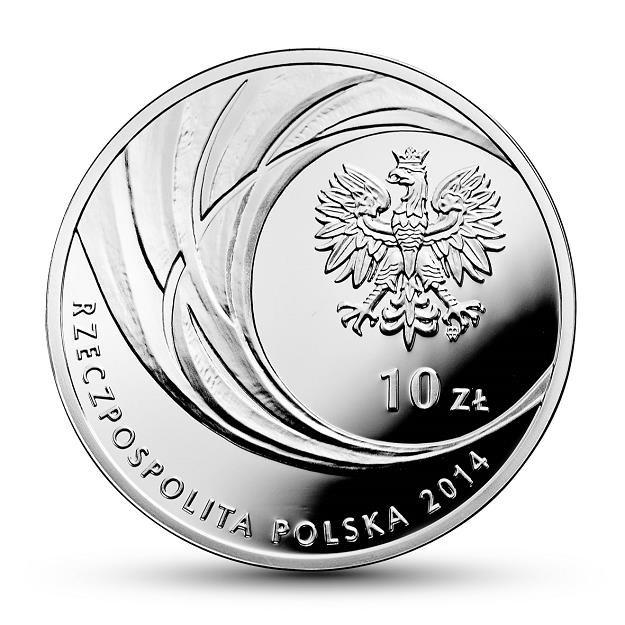 Awers monety o nominale 10 zł /NBP