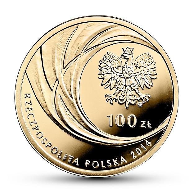 Awers monety o nominale 100 zł /NBP