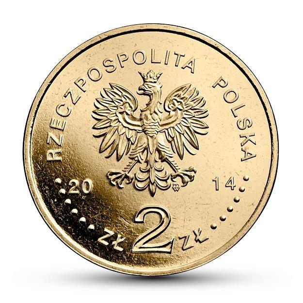 Awers monety o nominale 2 zł /NBP