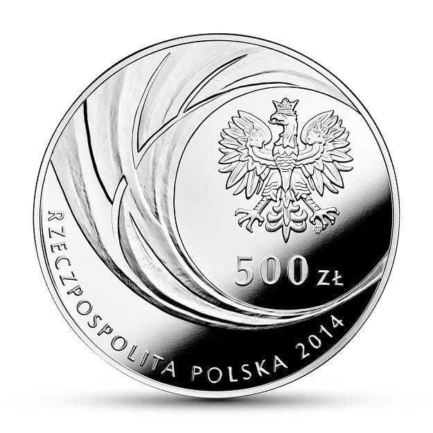 Awers monety o nominale 500 zł /NBP