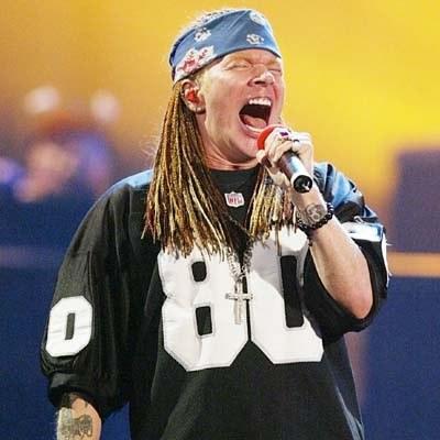 Axl Rose (Guns N' Roses) /AFP