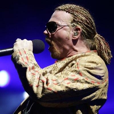 Axl Rose (Guns N'Roses) /arch. AFP