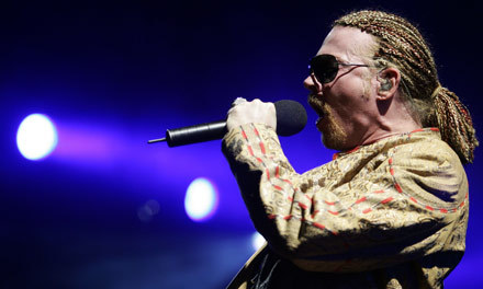 Axl Rose (Guns N' Roses) /arch. AFP