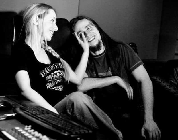 Aya i Mauser (UnSun) w studiu /Agnieszka Krysiuk