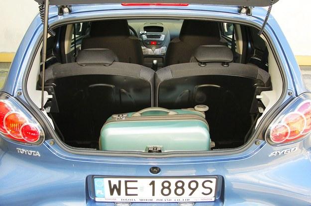 aygo bagażnik /Motor