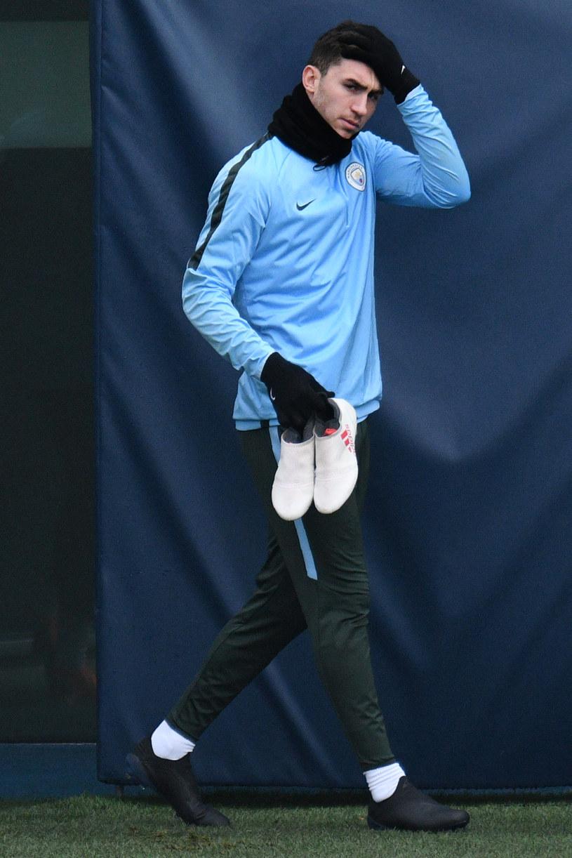 Aymeric Laporte w barwach City /OLI SCARFF/AFP /AFP